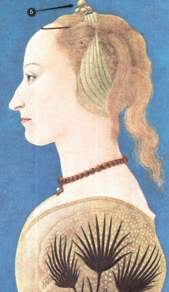 アレッシオ・バルドヴィネッティ黄色の衣装の貴婦人