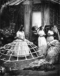 1800年ドレス試着