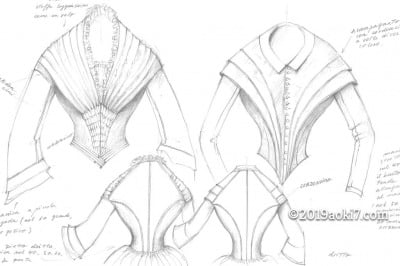 1800年代のドレスを作ってみ