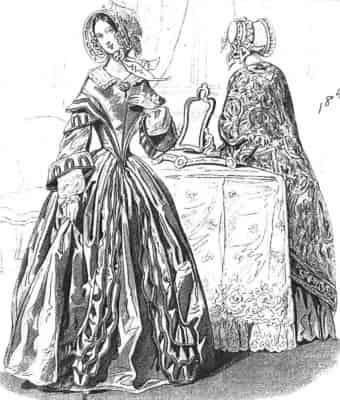 1800年代のドレスを作ってみた
