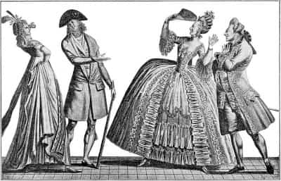ファッションの歴史ヨーロッパ、誰も言わない何