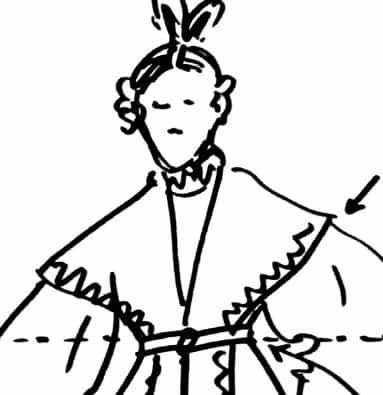 1830年のドレスはファッション史の中で唯一ほっこりする