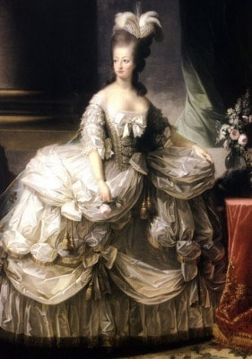 1700年ファッション、繊細優美なロココスタイル